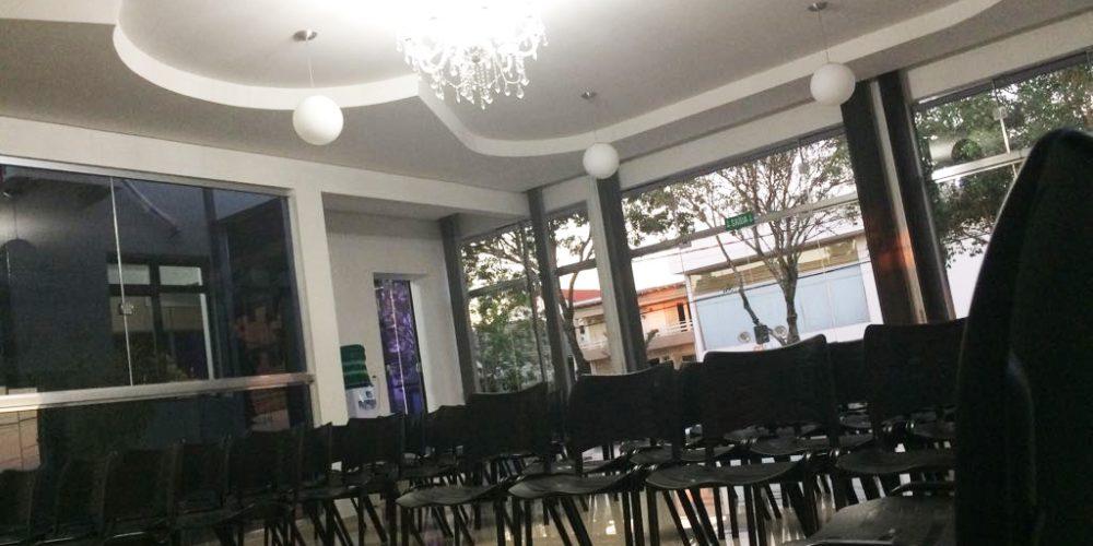 Auditório Arcísio Ferdinando Dugatto recebe mais um evento nesta quinta. Foto: Genaro Caetano/Rádio São Luiz