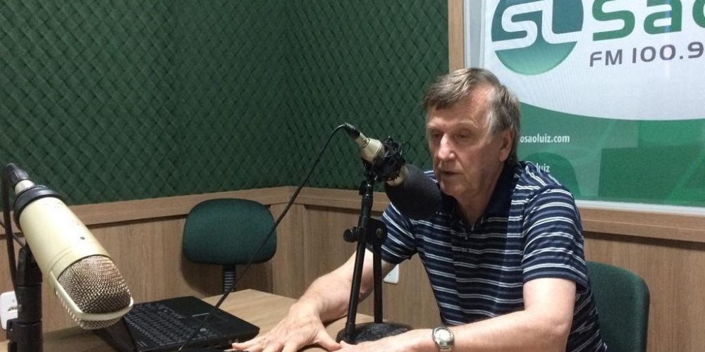 Prefeito participou do programa Olho Vivo desta sexta. Foto: Genaro Caetano/Rádio São Luiz