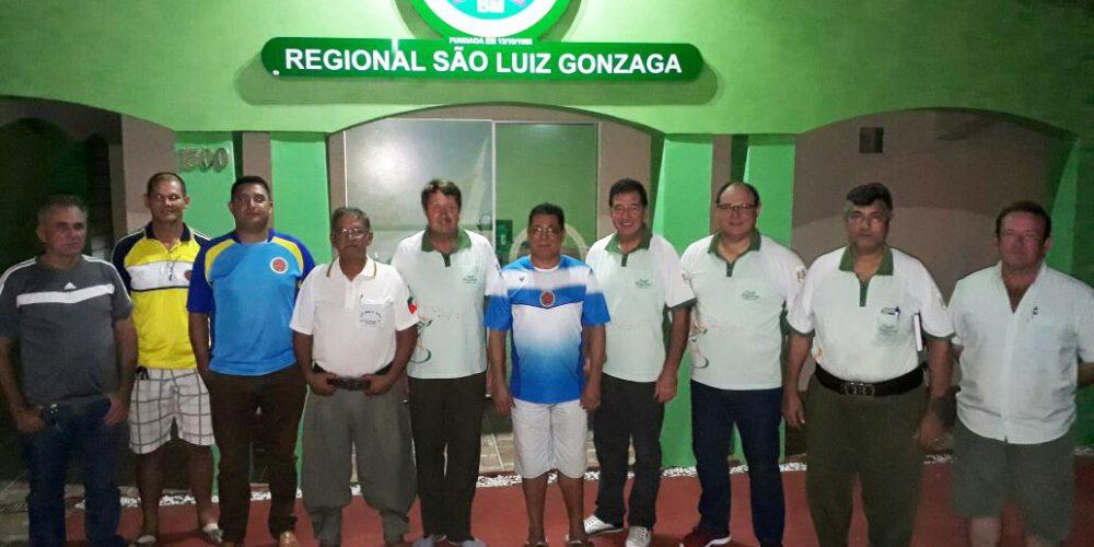 Participantes da reunião que definiu os rumos do evento. Foto: Alcides Figueiredo/Rádio São Luiz