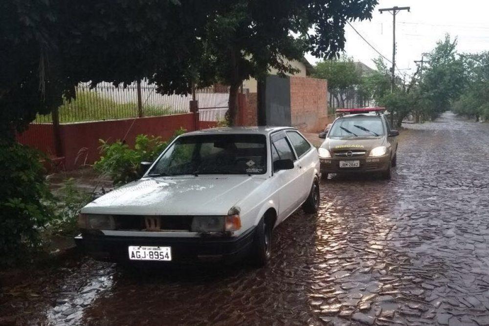 Veículos foram recuperados em São Luiz e São Borja. Fotos: divulgação BM
