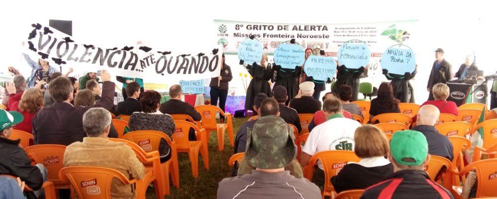 """Pontapé inicial foi dado com o """"Acampamento da Cidadania"""". Foto: divulgação imprensa Fetag"""