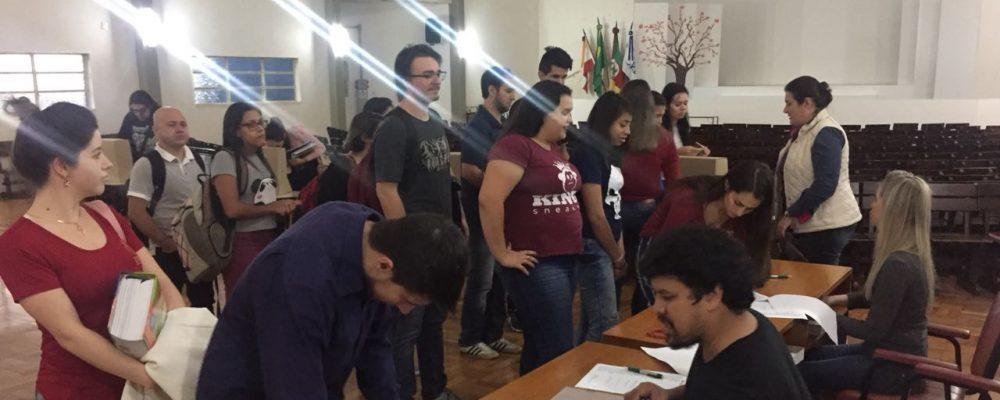 Eleições na unidade de São Luiz Gonzaga. Fotos: divulgação URI São Luiz