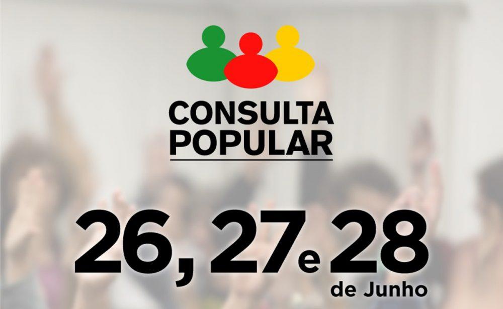 Imagem: divulgação Consulta Popular