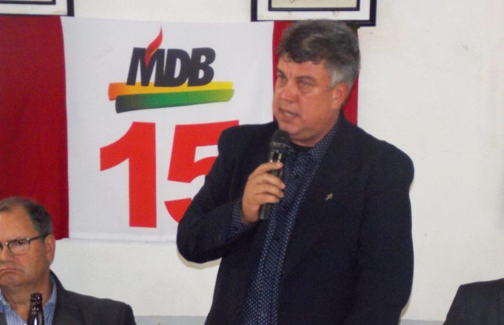 Vereador Aldimar Machado participou de encontro regional do partido. Foto: divulgação assessoria