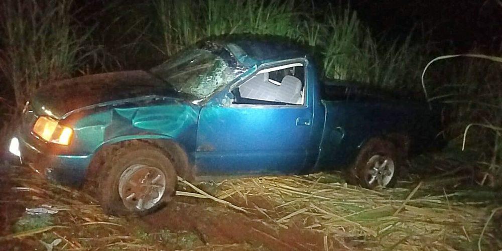 Condutor de 19 anos colide com outro veículo durante ultrapassagem. Foto: divulgação PRF