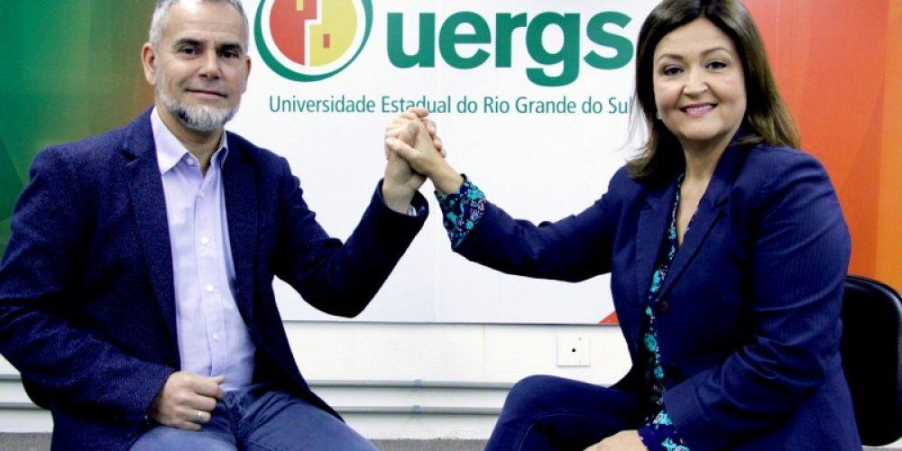 Leonardo Beroldt e Sandra Lemos - Foto: Ascom/Uergs