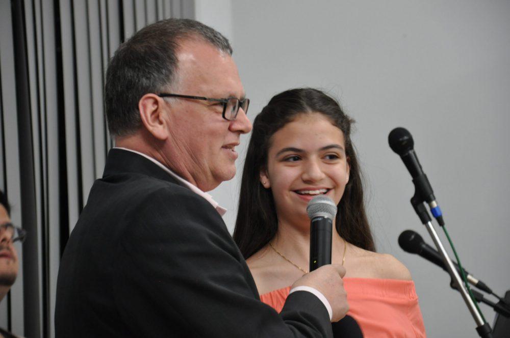 Valentina é estudante do Rui Barbosa